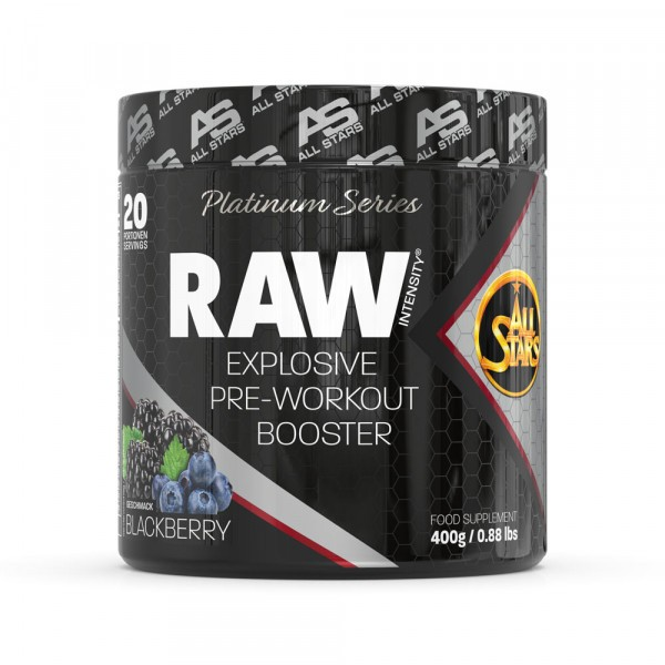 ALL STARS Raw Intensity Pre Workout Booster - Platinum Series 400g