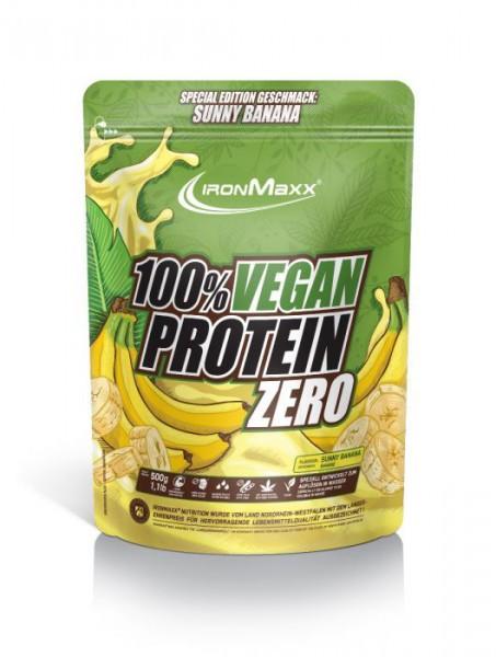 IRONMAXX 100% Vegan Protein Zero - 500g Beutel