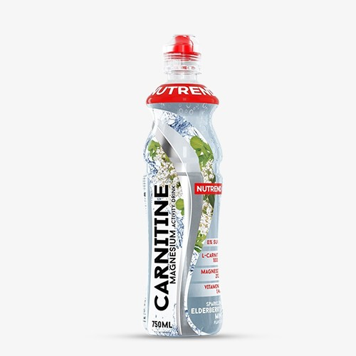 NUTREND Carnitine Magnesium Activity Drink 8 x 750ml elderberry/flower + mint Drinks