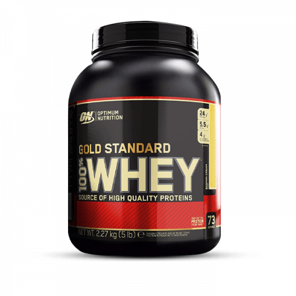 OPTIMUM NUTRITION 100% Whey Gold Standard 2270g Proteine