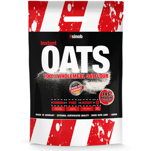 SINOB Instant Oats / Hafermehl, 4000g, Neutral Food