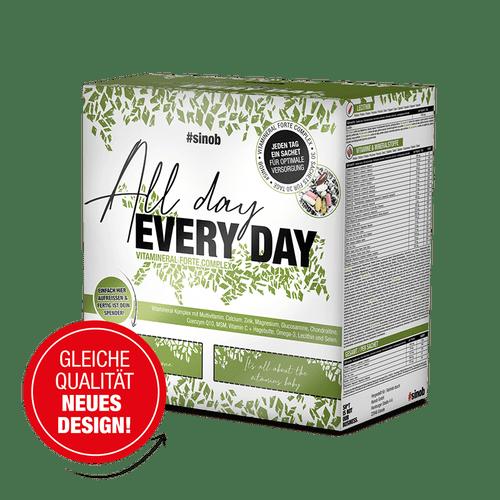 SINOB All Day Every Day Vitaminpack 30 Päckchen Vitamine und Mineralien
