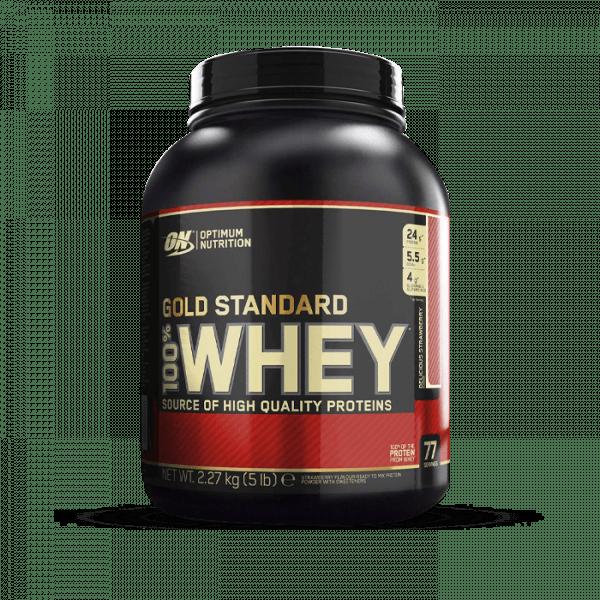 OPTIMUM NUTRITION 100% Whey Gold Standard 2272g Proteine
