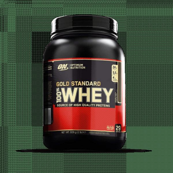 OPTIMUM NUTRITION 100% Whey Gold Standard 908g Proteine