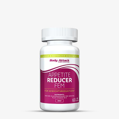 BODY ATTACK FEM Appetite Reducer, 60 Kapseln Diät Produkte