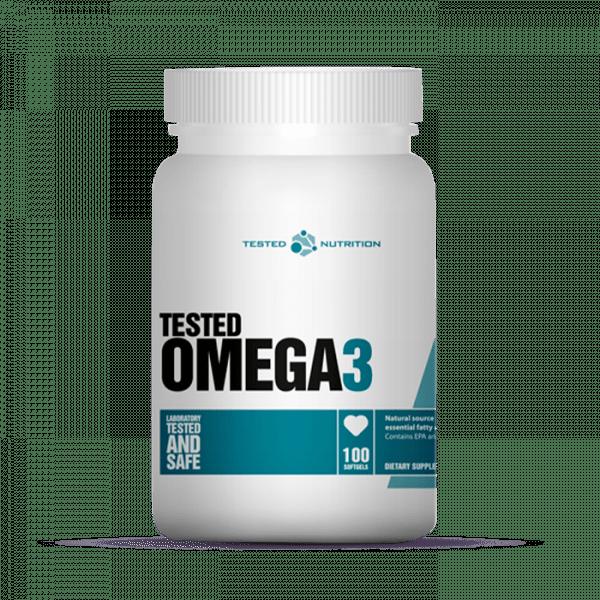 TESTED OMEGA-3, 100 SOFTGELS