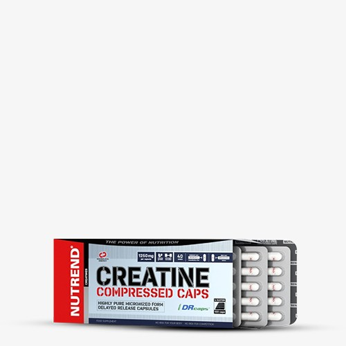 NUTREND CREATINE COMPRESSED Kapseln, 120 Kapseln Kreatin