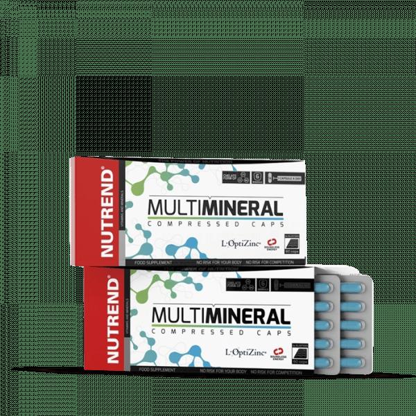 NUTREND MULTIMINERAL COMPRESSED Kapseln 60 Kapseln Vitamine und Mineralien