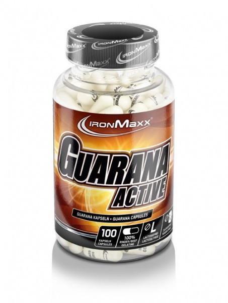 IRONMAXX Guarana Active 100 Kapseln