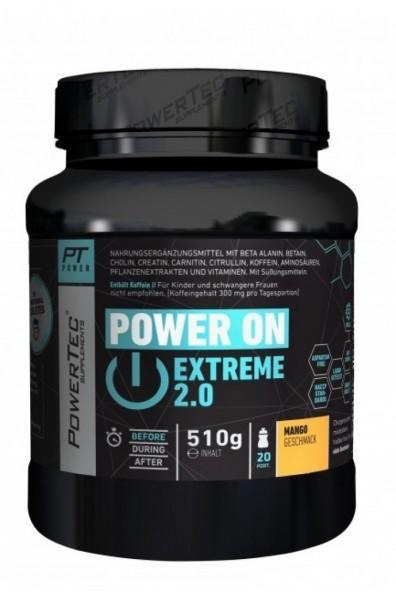 POWERTEC Power ON Extreme 2.0 510g - Mango