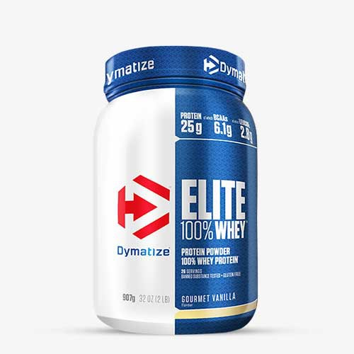 DYMATIZE - Elite Whey, 907g Proteine