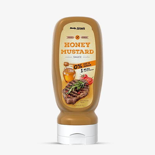 BODY ATTACK Sauce Honey-Mustard, 320ml Food
