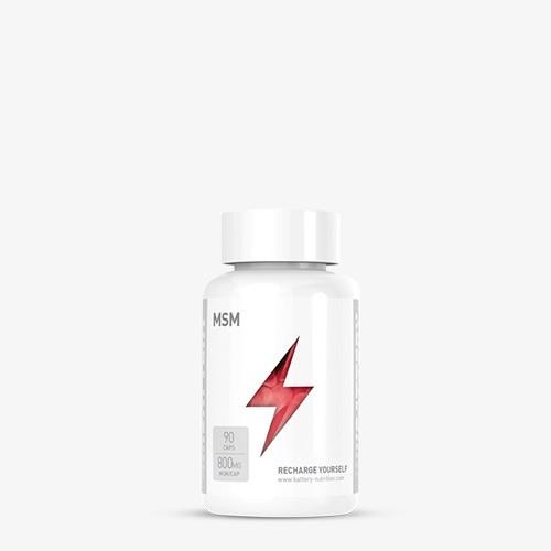 BATTERY MSM, 90 Kapseln Health Produkte