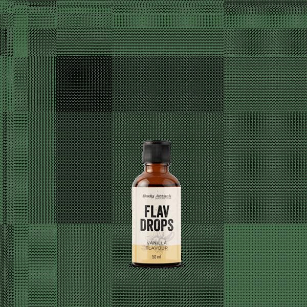 BODY ATTACK Flav Drops, 50ml Food
