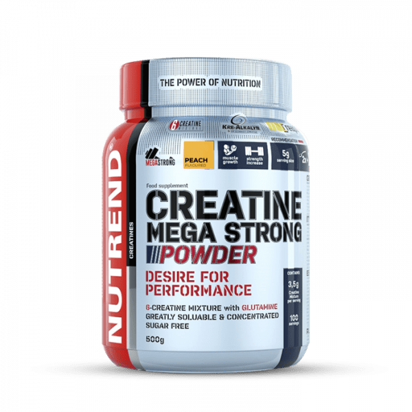 NUTREND Creatine Mega Strong Powder 500g Kreatin