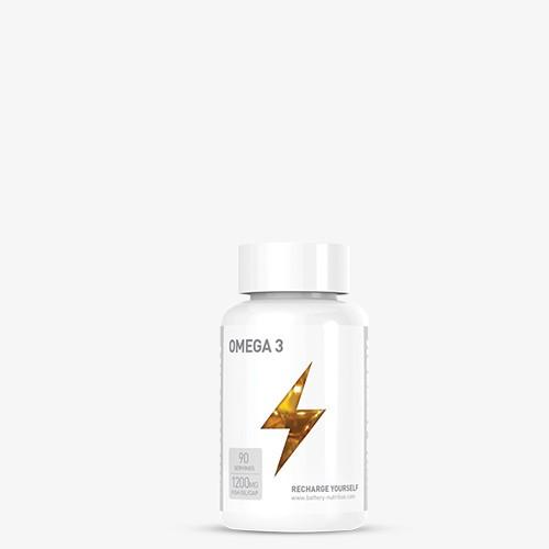 BATTERY OMEGA 3, 90 Kapseln Health Produkte