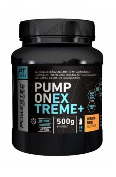POWERTEC Pump ON Extreme+ 500g - Pfirsich-Eistee