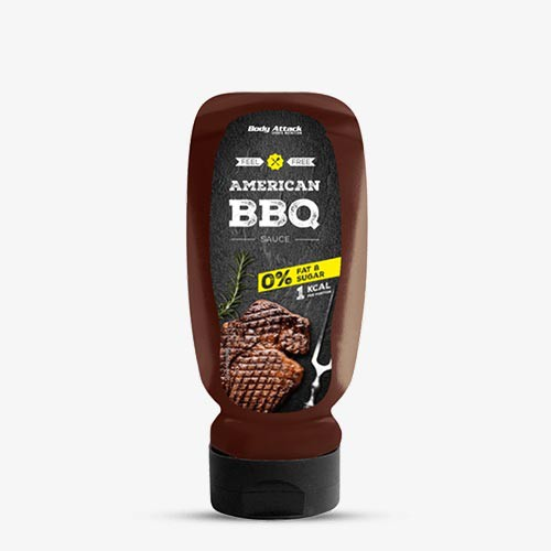 BODY ATTACK Sauce BBQ, 320ml Food