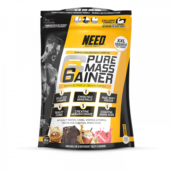 NEED Pure Mass Gainer 4540g