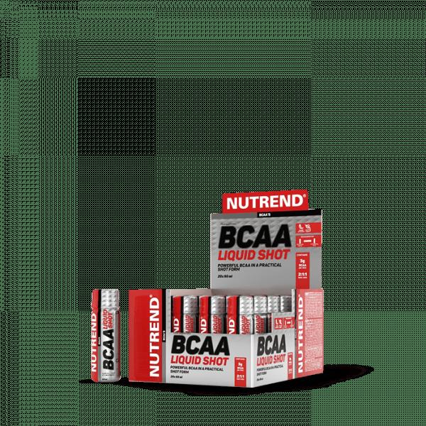 NUTREND BCAA LIQUID SHOT 20x 60 ml Aminos